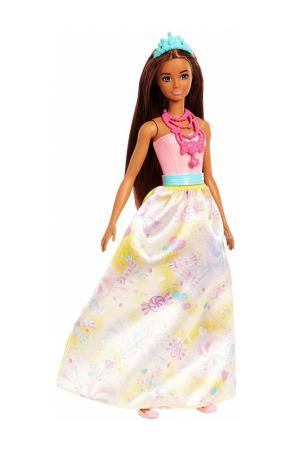 Барби (Принцесса брюнетка) Barbie. Цвет: белый