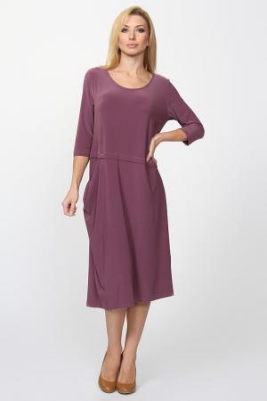 Платье LA MOUETTE. Цвет: розовый