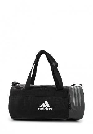 Сумка спортивная adidas CVRT 3S DUF S. Цвет: черный