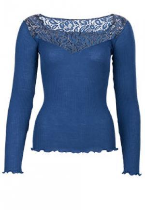 Блуза BONA DEA. Цвет: синий