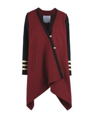 Пальто GAëLLE Paris. Цвет: красно-коричневый