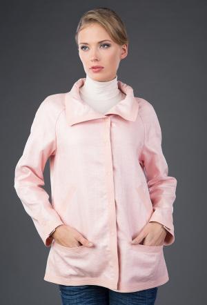 Женственная ветровка Visconf светло-розового цвета Visconf/Violanti. Цвет: светло-розовый