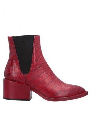 Полусапоги и высокие ботинки GIAMPAOLO VIOZZI. Цвет: красный