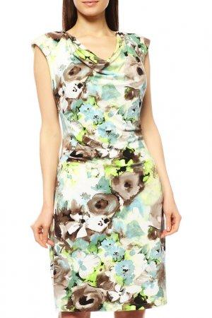 Платье Apanage. Цвет: светло-зелёный, цветы