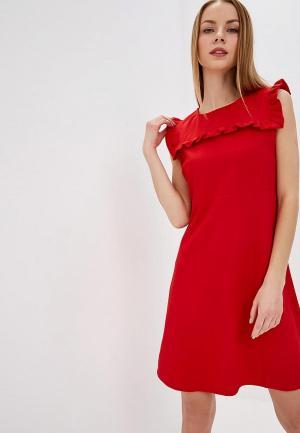 Платье Almatrichi. Цвет: красный