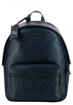 Рюкзак EMPORIO ARMANI. Цвет: синий