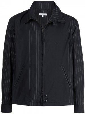 Куртка-рубашка на молнии Engineered Garments. Цвет: синий