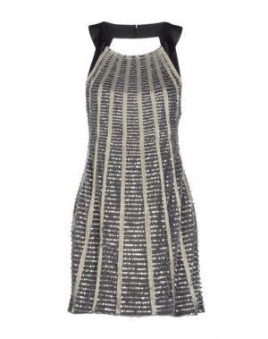 Короткое платье BASIX BLACK LABEL. Цвет: черный