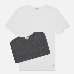 Комплект мужских футболок Heritage 2 Pack Armor-Lux. Цвет: комбинированный