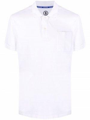 Рубашка поло с нагрудным карманом Bogner. Цвет: белый