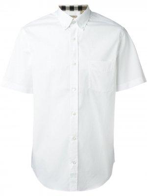 Рубашка с короткими рукавами Burberry. Цвет: белый