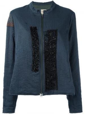 Куртка New Classic By Walid. Цвет: синий