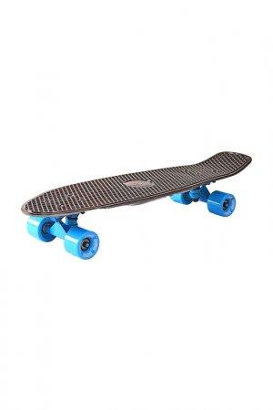 Скейтборд с сумкой Y-SCOO. Цвет: черный