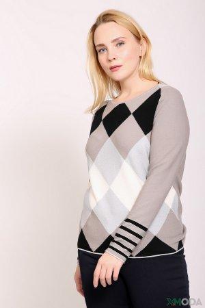 Пуловер Lecomte. Цвет: бежевый