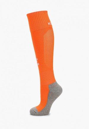 Гетры Kelme Football Length Socks. Цвет: оранжевый
