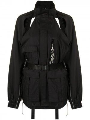 Куртка с контрастными вставками Ground Zero. Цвет: черный