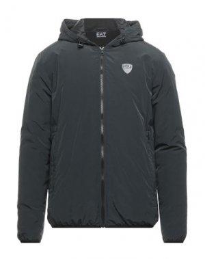Куртка EA7. Цвет: черный
