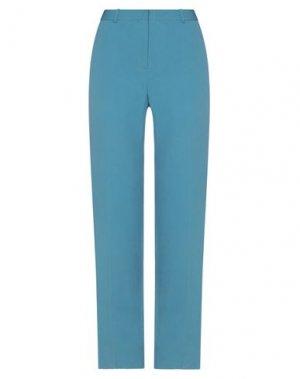 Повседневные брюки ANGEL SCHLESSER. Цвет: лазурный