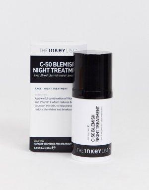 Ночное средство для лица против высыпаний C-50 INKEY List, 30 мл-Бесцветный THE LIST