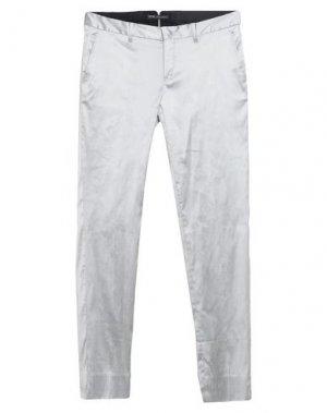 Повседневные брюки PT Torino. Цвет: серый