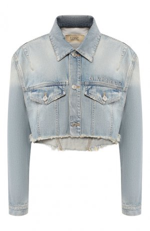 Джинсовая куртка Givenchy. Цвет: синий