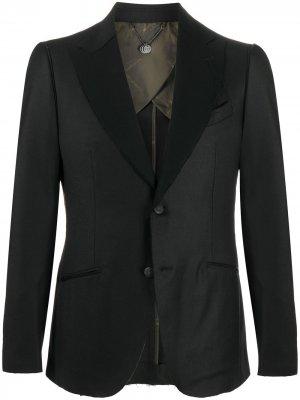 Пиджак Quinn Maurizio Miri. Цвет: черный