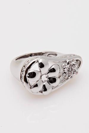 Кольцо Ines M. Цвет: серебряный