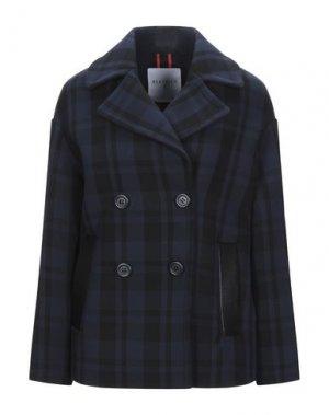 Пальто BEATRICE. Цвет: темно-синий