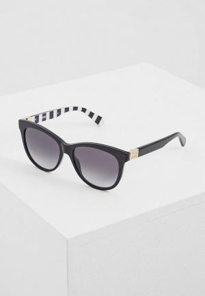 Очки солнцезащитные Love Moschino MOL001/S 807. Цвет: черный