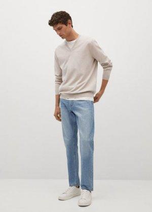 Пуловер с терморегуляцией - Tenv Mango. Цвет: пастельный светло-серый