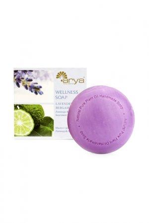 Мыло Arya home collection. Цвет: лиловый