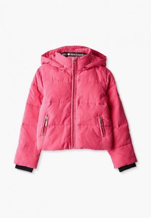 Куртка утепленная Byblos. Цвет: розовый