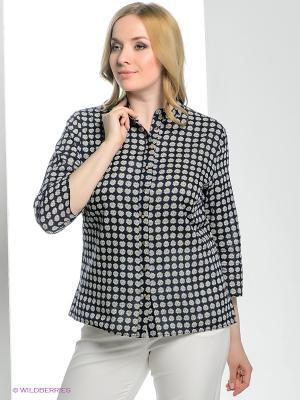 Рубашка adL. Цвет: черный, белый, желтый