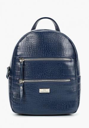 Рюкзак Franchesco Mariscotti. Цвет: синий