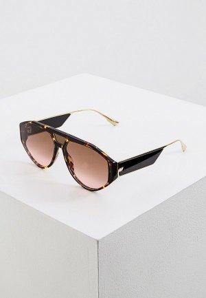Очки солнцезащитные Christian Dior DIORCLAN1 086. Цвет: коричневый