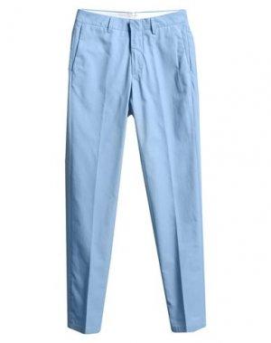 Повседневные брюки DUNHILL. Цвет: небесно-голубой