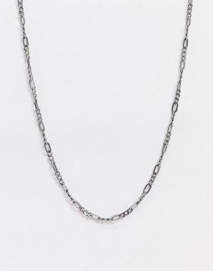 Ожерелье с подвеской из нержавеющей стали -Серебряный Fossil