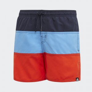 Пляжные шорты Colorblock Performance adidas. Цвет: синий