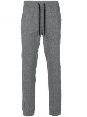 Классические спортивные брюки Michael Kors Collection. Цвет: серый