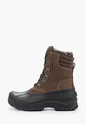 Ботинки CMP KINOS WP. Цвет: коричневый