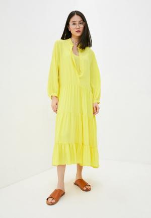 Платье Beatrice.B. Цвет: желтый
