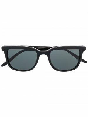 Солнцезащитные очки Joe Barton Perreira. Цвет: черный