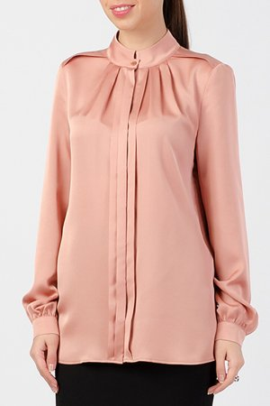 Блузка TUZUN. Цвет: сомон