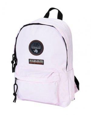 Рюкзаки и сумки на пояс NAPAPIJRI. Цвет: светло-розовый