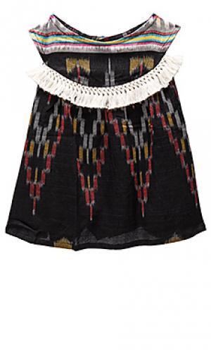 Платье-майка addison Cleobella. Цвет: черный