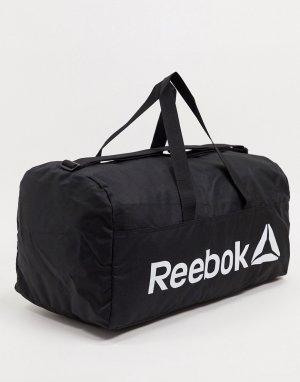 Спортивная сумка с бутылкой и полотенцем -Черный Reebok