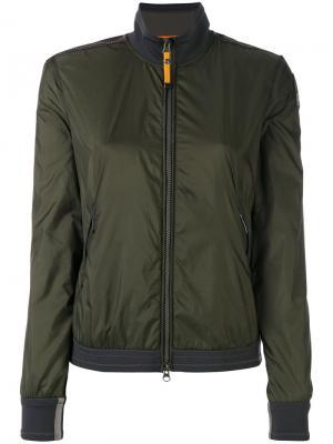Куртка-бомбер Adele Parajumpers. Цвет: зелёный
