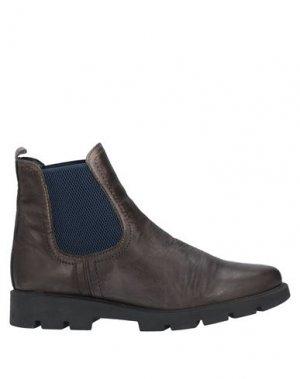 Полусапоги и высокие ботинки THE FLEXX. Цвет: стальной серый