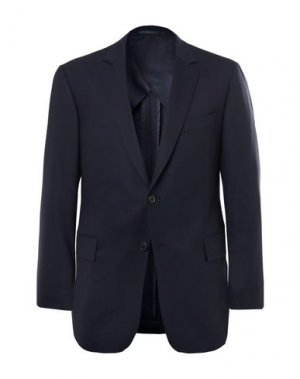 Пиджак GIEVES & HAWKES. Цвет: темно-синий