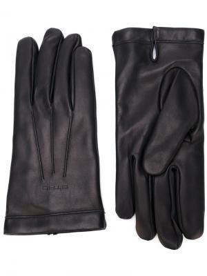 Перчатки с шерстяной подкладкой Etro. Цвет: синий